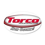 Torco Accelerator Oval Car Magnet