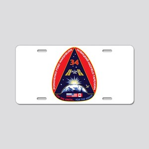 Expedition 34 Aluminum License Plate