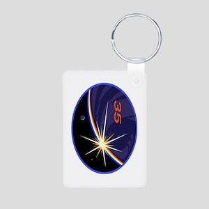 Expedition 35 Aluminum Photo Keychain Keychains