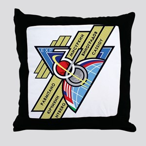 Expedition 36 Throw Pillow