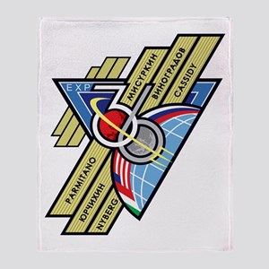 Expedition 36 Throw Blanket