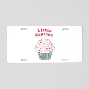 Little Cupcake Aluminum License Plate