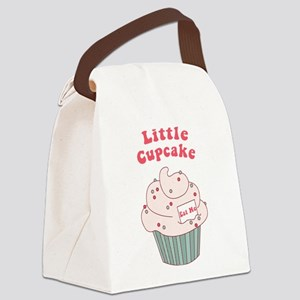 Little Cupcake Canvas Lunch Bag