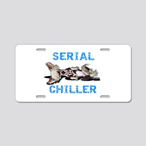 Chinese Crested Serial Chiller Aluminum License Pl
