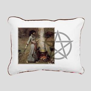 Magic Circle Rectangular Canvas Pillow