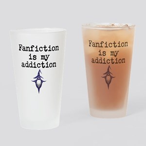 Fanfiction Drinking Glass