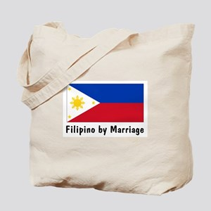 Filipino by Marriage Tote Bag