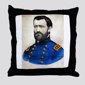 Lieut. Genl. Ulysses S. Grant - 1907 Throw Pillow