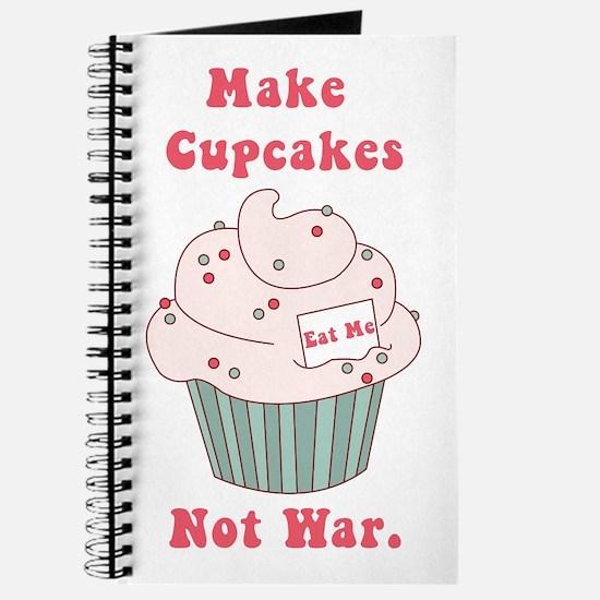 Make Cupcakes Not War Journal