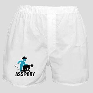 Ass Pony Tee Boxer Shorts