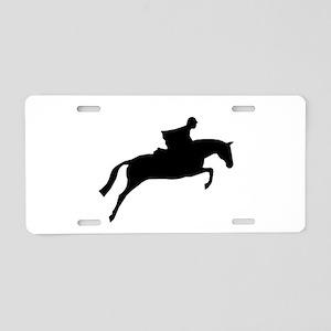 Hunter/Jumper Aluminum License Plate