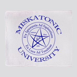 Miskatonic University Throw Blanket