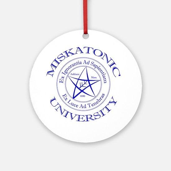 Miskatonic University Ornament (Round)