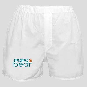 Matching Family - Papa Bear Boxer Shorts
