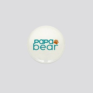 Matching Family - Papa Bear Mini Button