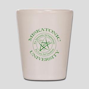 Miskatonic University Shot Glass