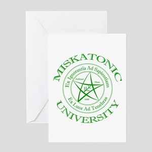 Miskatonic University Greeting Card