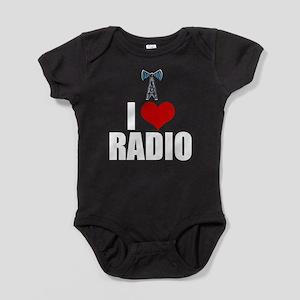 I Love Radio Baby Bodysuit