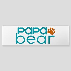 Matching Family - Papa Bear Bumper Sticker