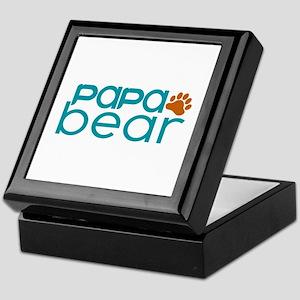 Matching Family - Papa Bear Keepsake Box