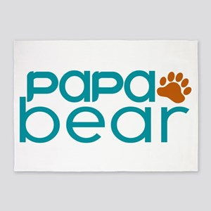 Matching Family - Papa Bear 5'x7'Area Rug