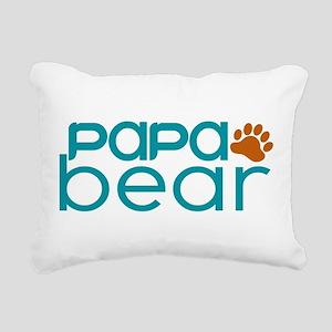 Matching Family - Papa Bear Rectangular Canvas Pil