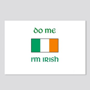 Do Me I'm Irish Postcards (Package of 8)