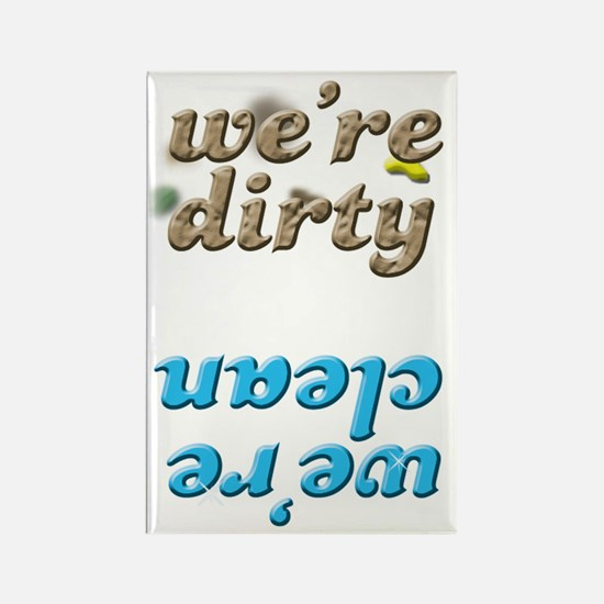 10 Clean or Dirty Dishwasher Rectangle Magnet