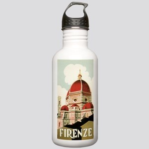 Vintage Firenze Italy Stainless Water Bottle 1.0L