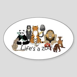Atlanta Carnivores Sticker (Oval)