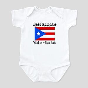 Puerto Rican Parts Infant Bodysuit