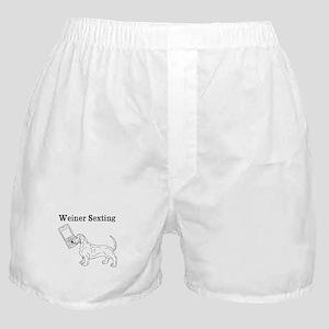 Weiner Sexting Boxer Shorts