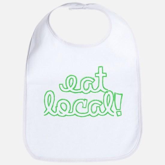 Eat Local! Bib
