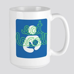 Eat local! Mug