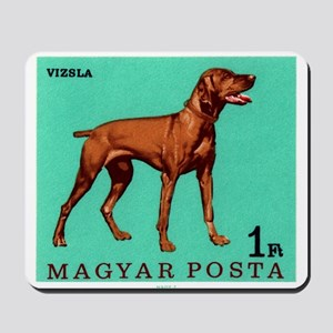 1967 Hungary Vizsla Dog Postage Stamp Mousepad