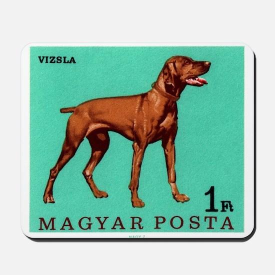 1967 Hungary Vizsla Dog Postage Stamp Mousepad