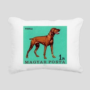 1967 Hungary Vizsla Dog Postage Stamp Rectangular