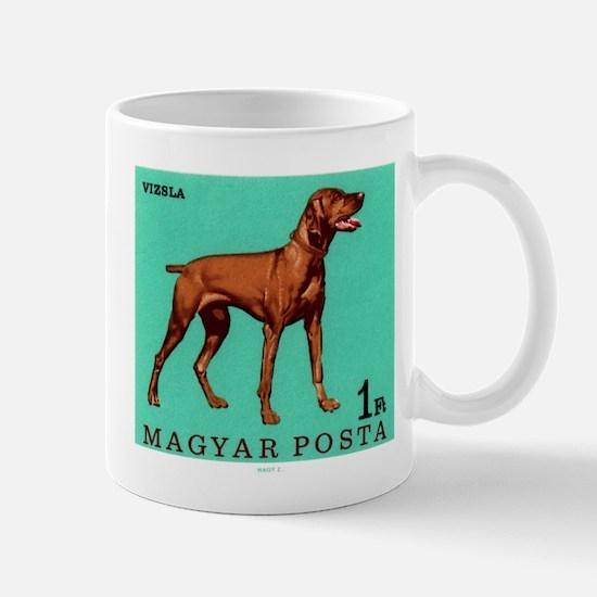 1967 Hungary Vizsla Dog Postage Stamp Mug