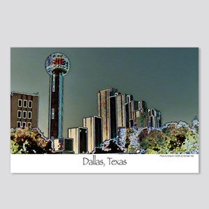 Dallas in Neon - Postcards (Package of 8)