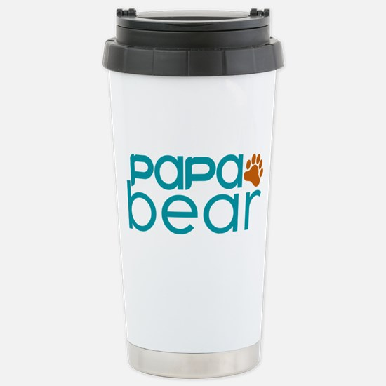 Matching Family - Papa Bear Travel Mug