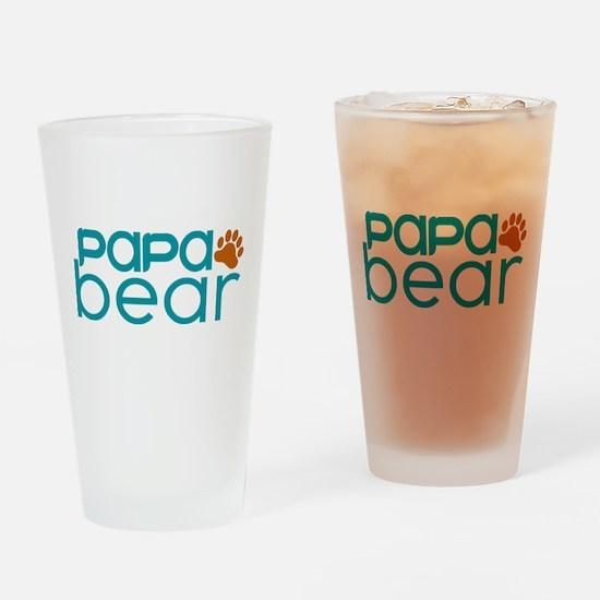 Matching Family - Papa Bear Drinking Glass