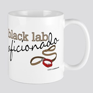 Black Lab Aficionado Mug