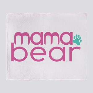 Mama Bear - Family Matching Throw Blanket