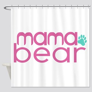 Mama Bear - Family Matching Shower Curtain
