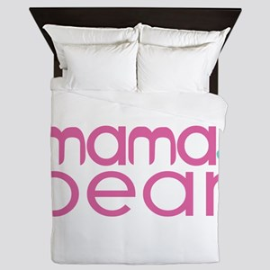 Mama Bear - Family Matching Queen Duvet