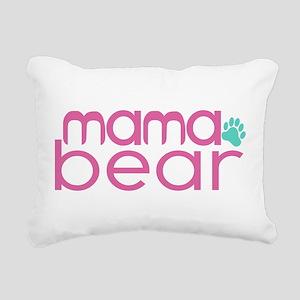 Mama Bear - Family Matching Rectangular Canvas Pil