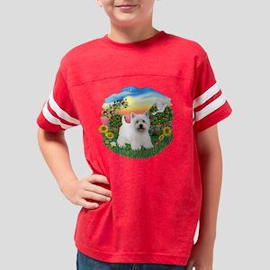 BrightCountry-Westie5 Youth Football Shirt