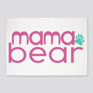 Mama Bear - Family Matching 5'x7'Area Rug