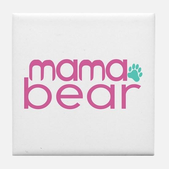 Mama Bear - Family Matching Tile Coaster