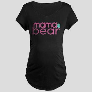 Mama Bear - Family Matching Maternity Dark T-Shirt